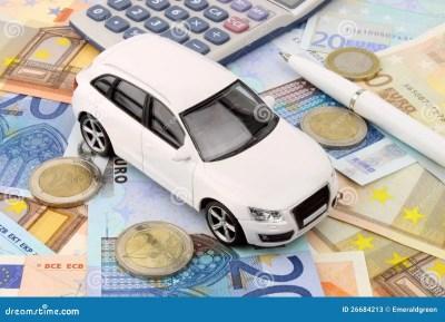 Euro Car Finance Stock Photos - Image: 26684213