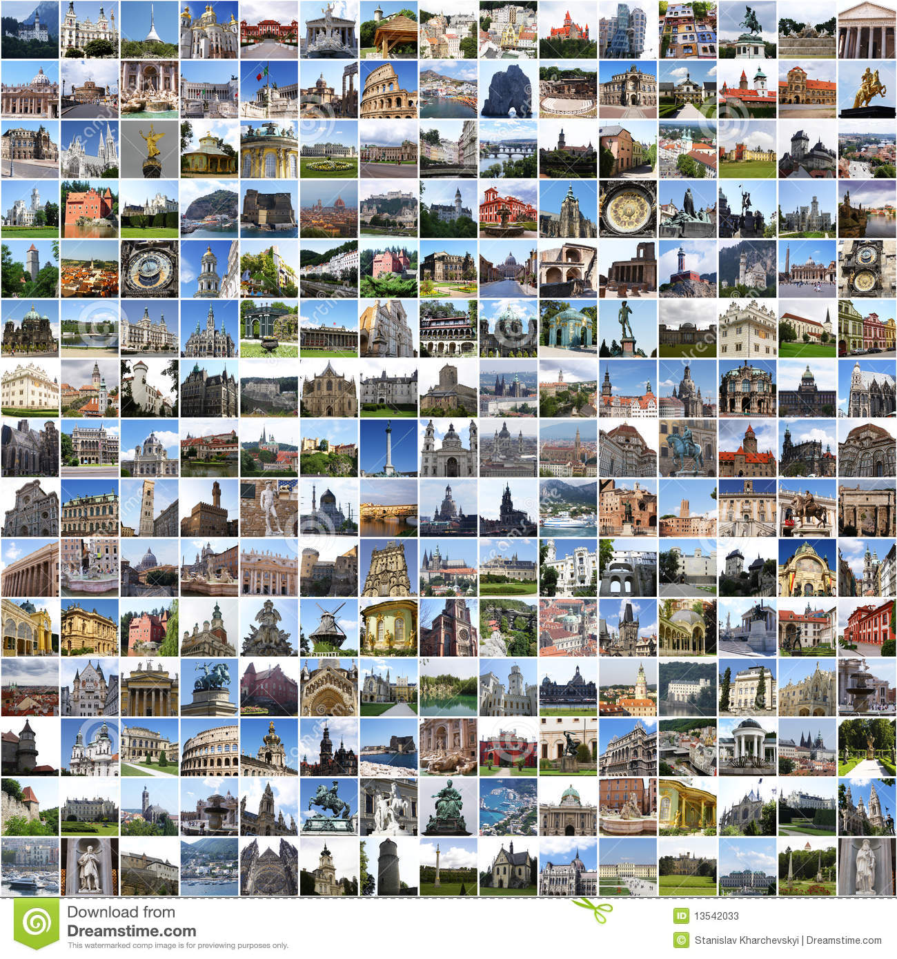 Collage Fotos Go Europe Collage With Photos Of Europe Stock Image Image Of