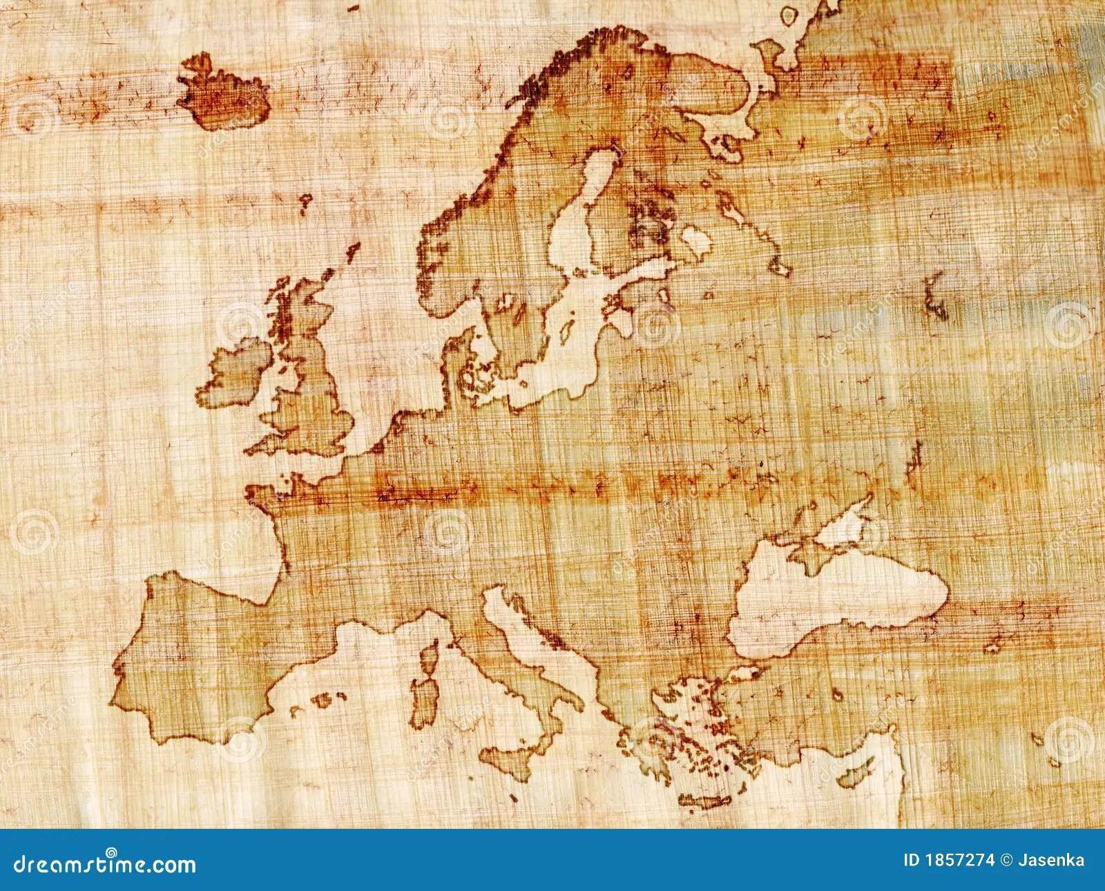 China Beautiful Girl Wallpaper Europe On Papyrus Stock Images Image 1857274