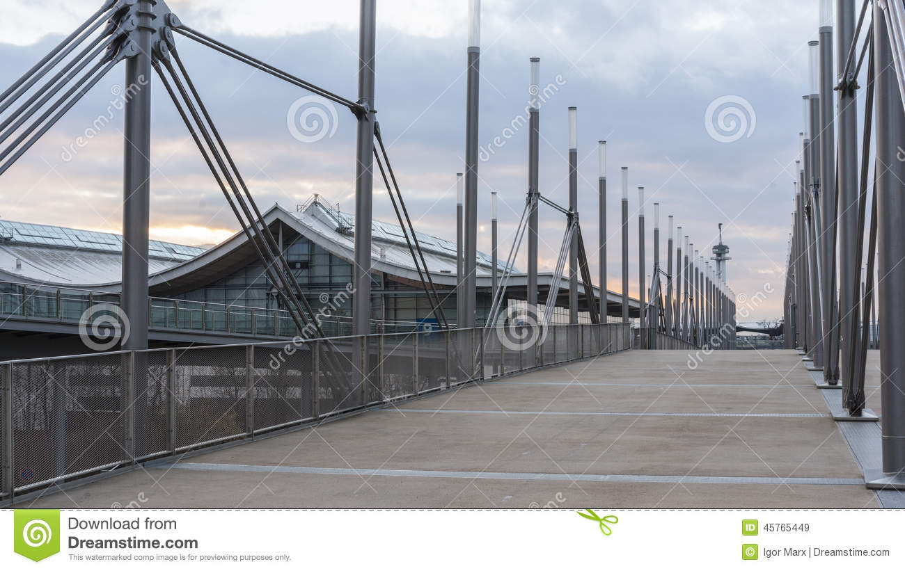 Expo Plaza Hannover Expo Plaza On Hannover Fairground Editorial Stock Image
