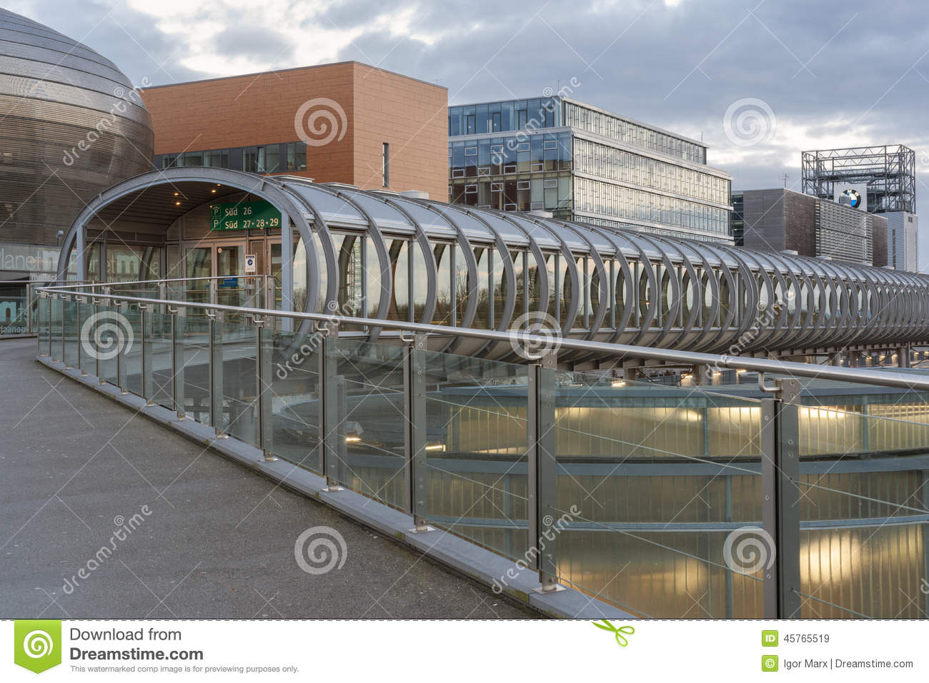 Expo Plaza Hannover Expo Plaza On Hannover Fairground Editorial Stock Image Image Of
