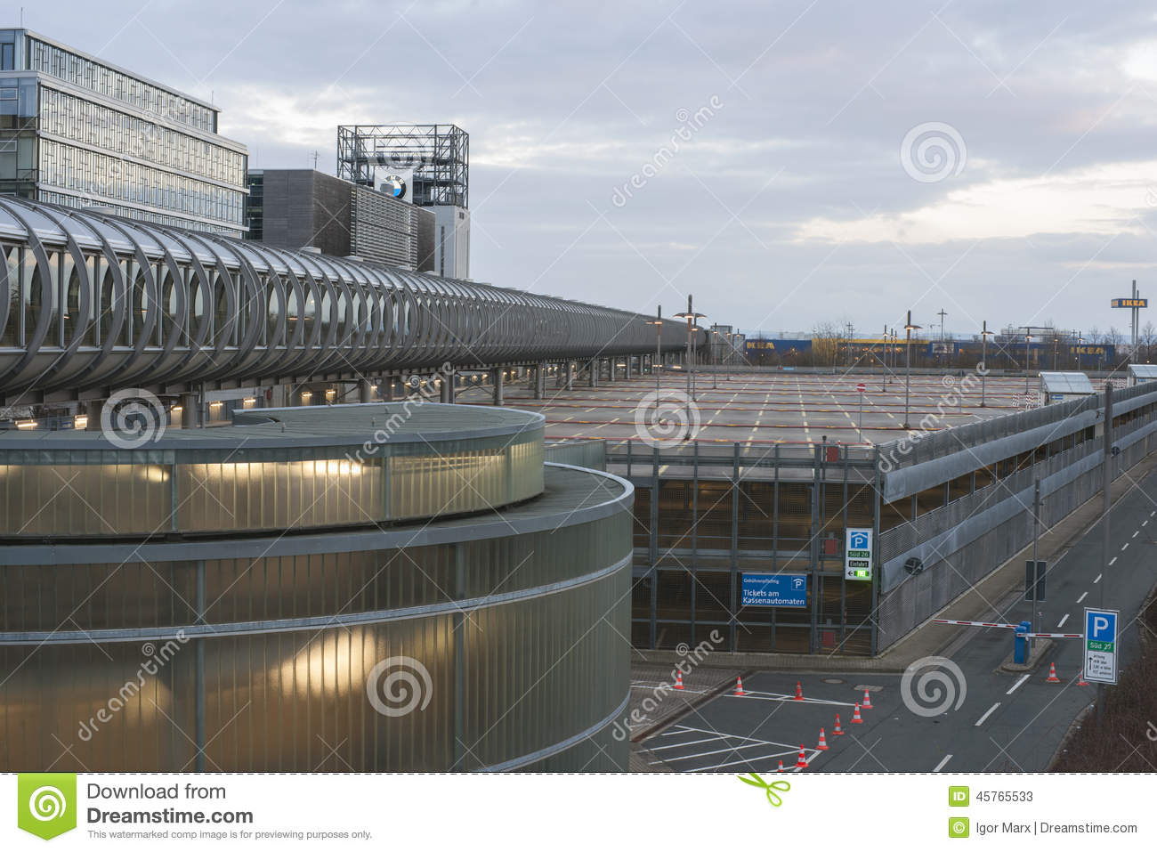 Expo Plaza Hannover Expo Plaza On Hannover Fairground Editorial Stock Photo Image Of
