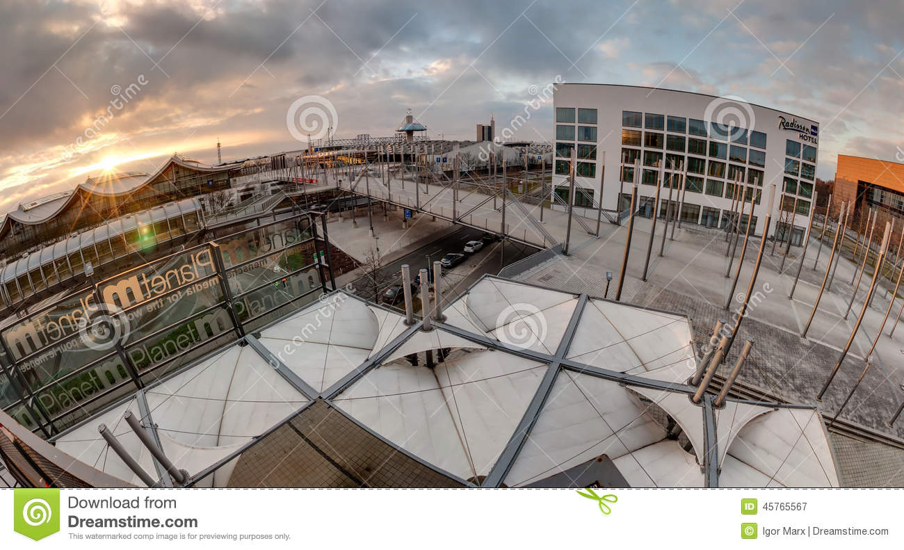Expo Plaza Hannover Expo Plaza On Hannover Fairground Editorial Photography Image Of