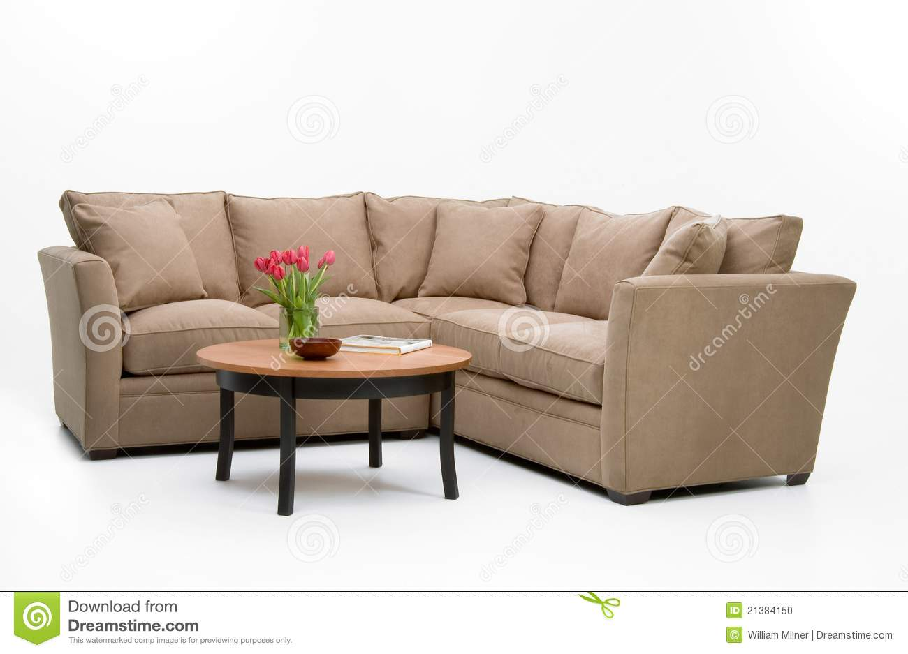 Sofa Table Set Up Fabric Sofa Set And Table Stock Photo Image Of Seat