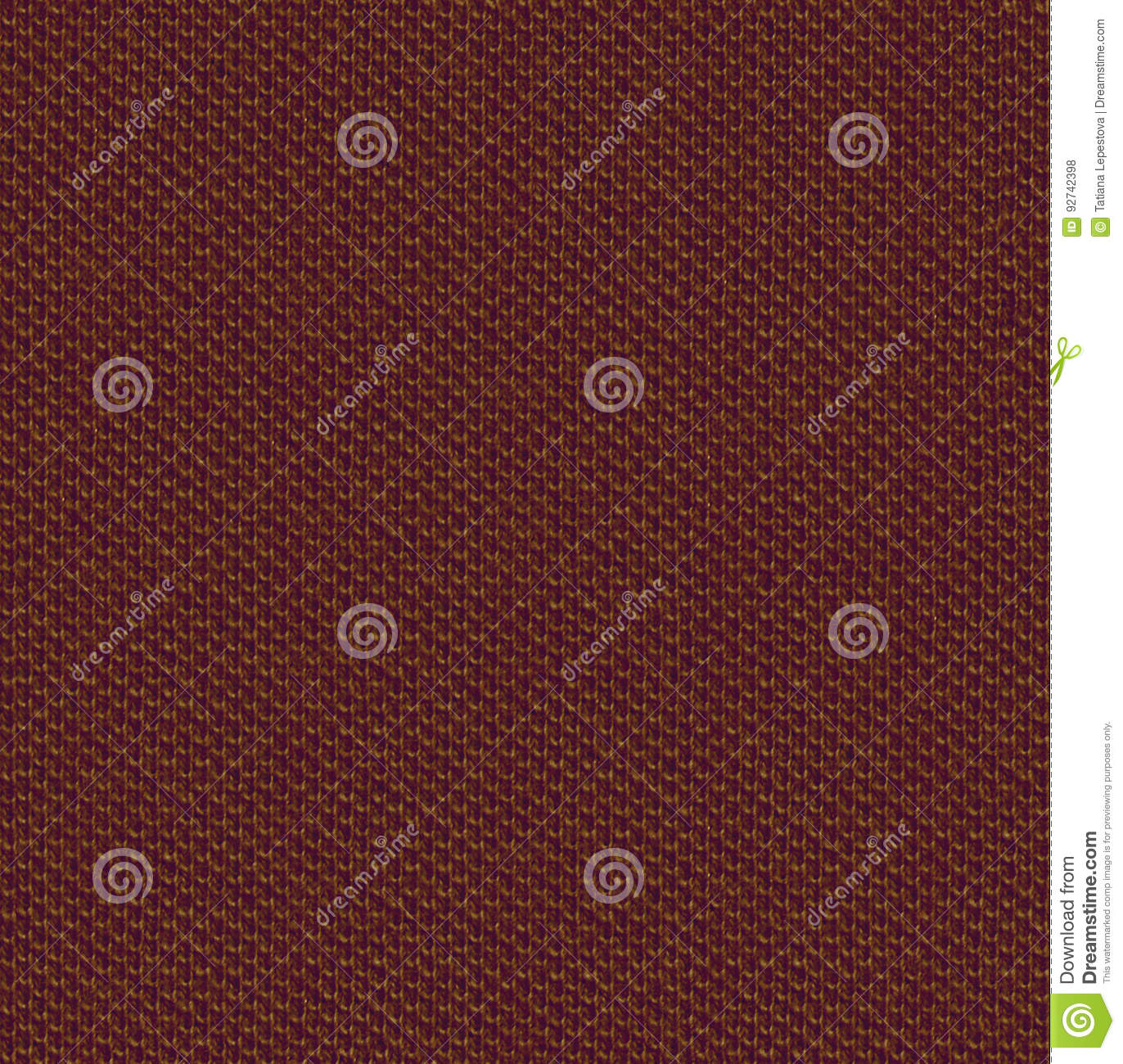 Brown Seamless Fabric Textures Fabric Texture 3 Diffuse Seamless Map Brown Stock Photo Image