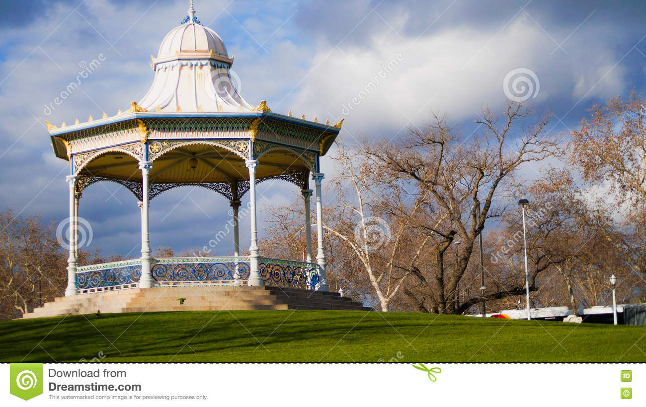 Gazebo Adelaide Victorian Style Gazeb Stock Photo Image Of Structure 80333446