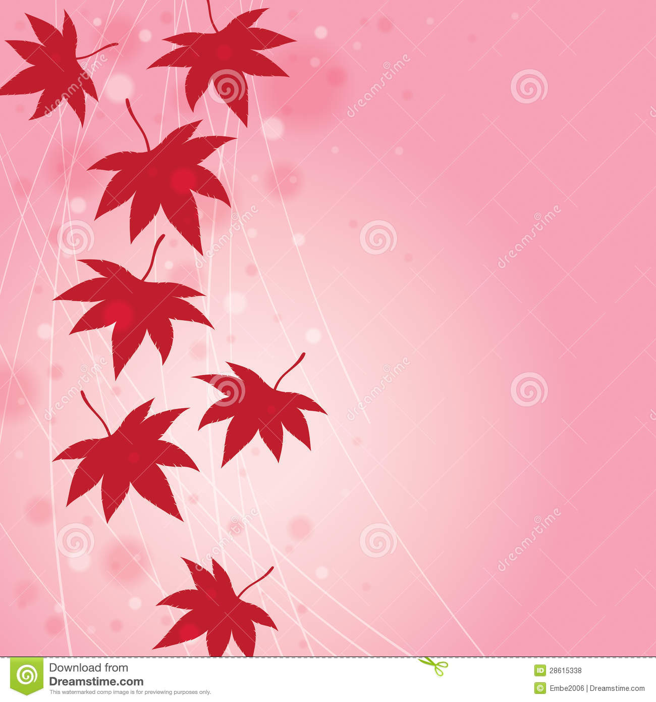 Fall Season Wallpaper Free Fall Leaf Background Stock Vector Image Of Vector Poster