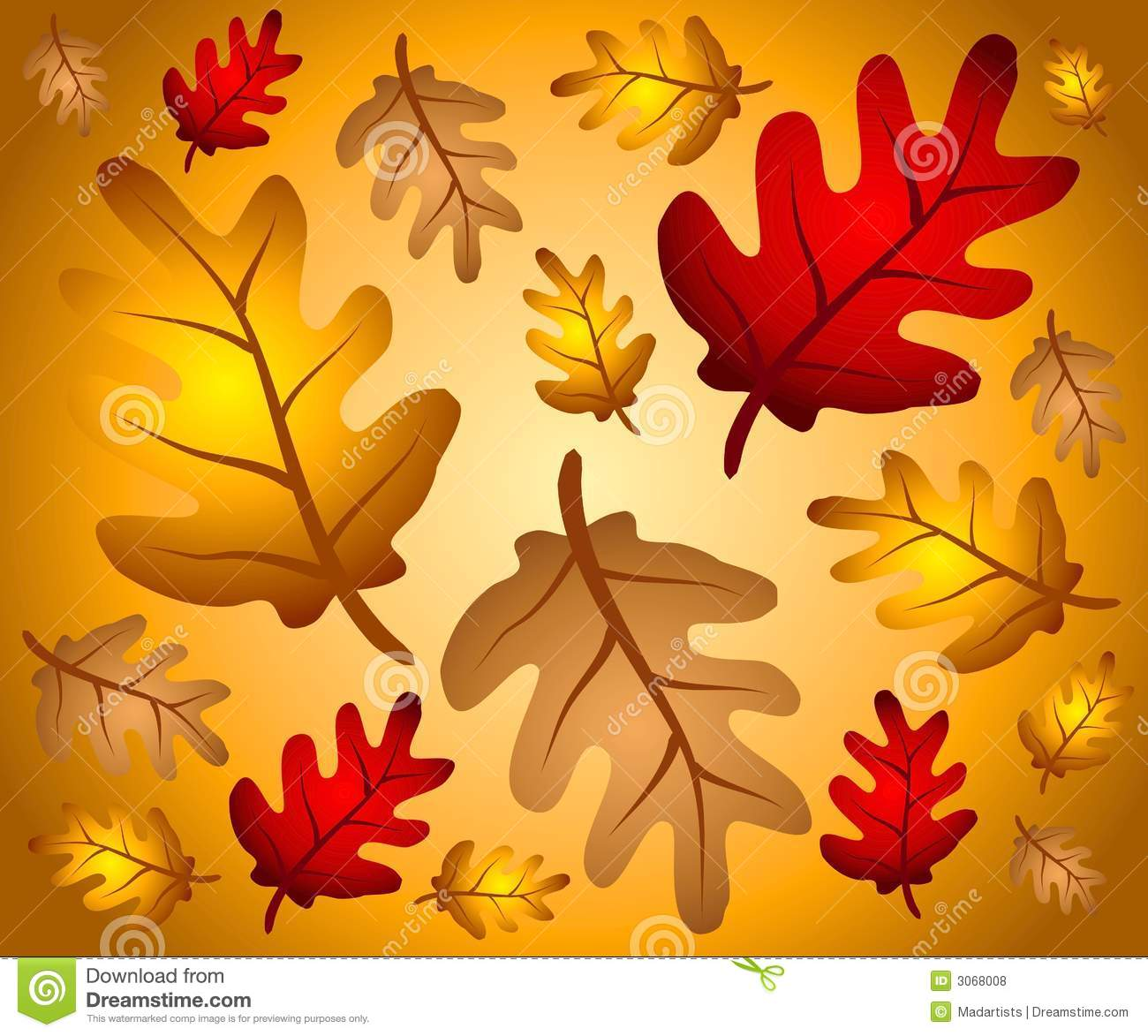 Hd Wallpaper Texture Fall Harvest Fall Oak Leaves Background 2 Royalty Free Stock Photos