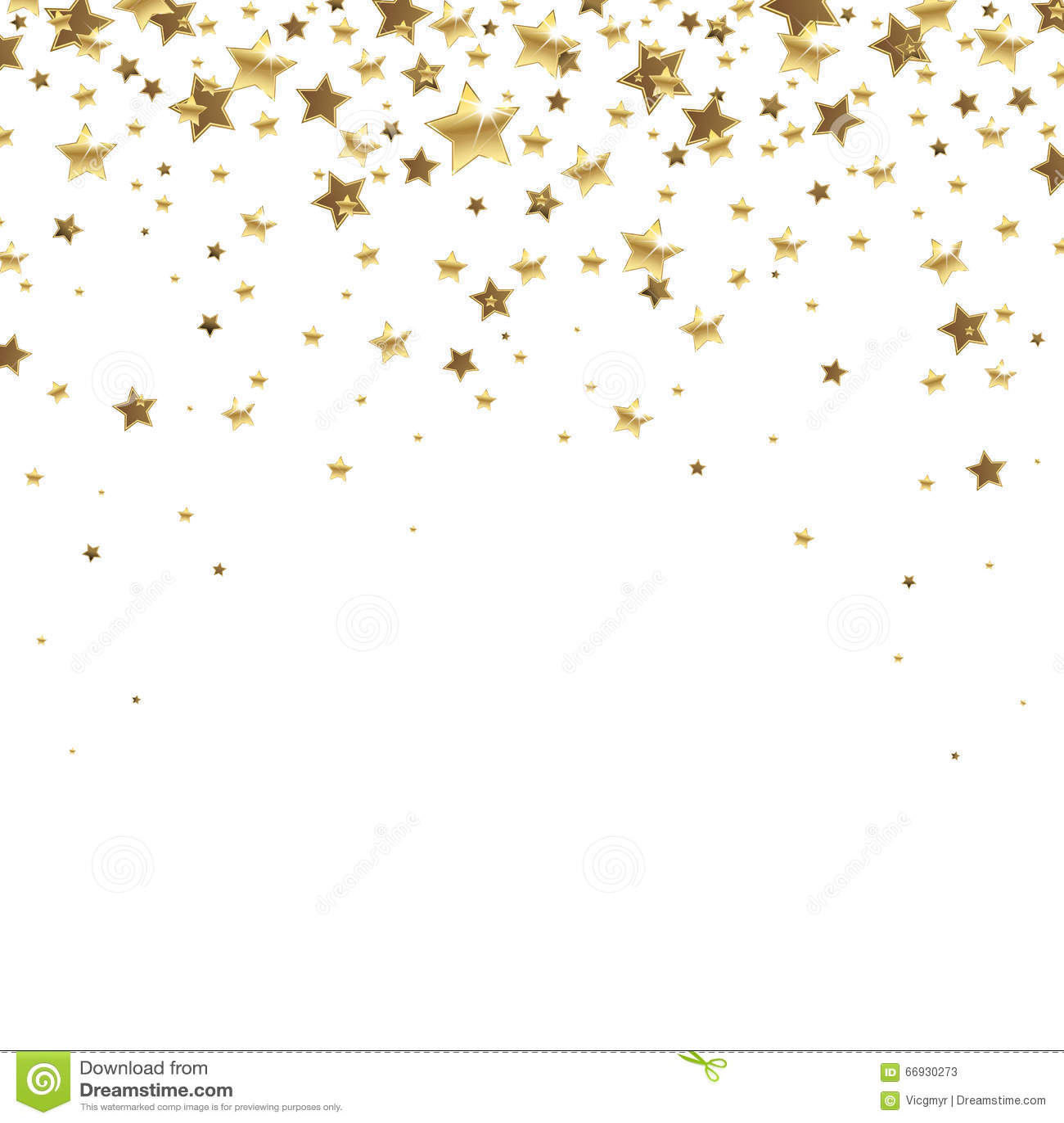 Falling Glitter Wallpaper Falling Golden Stars Stock Vector Image 66930273
