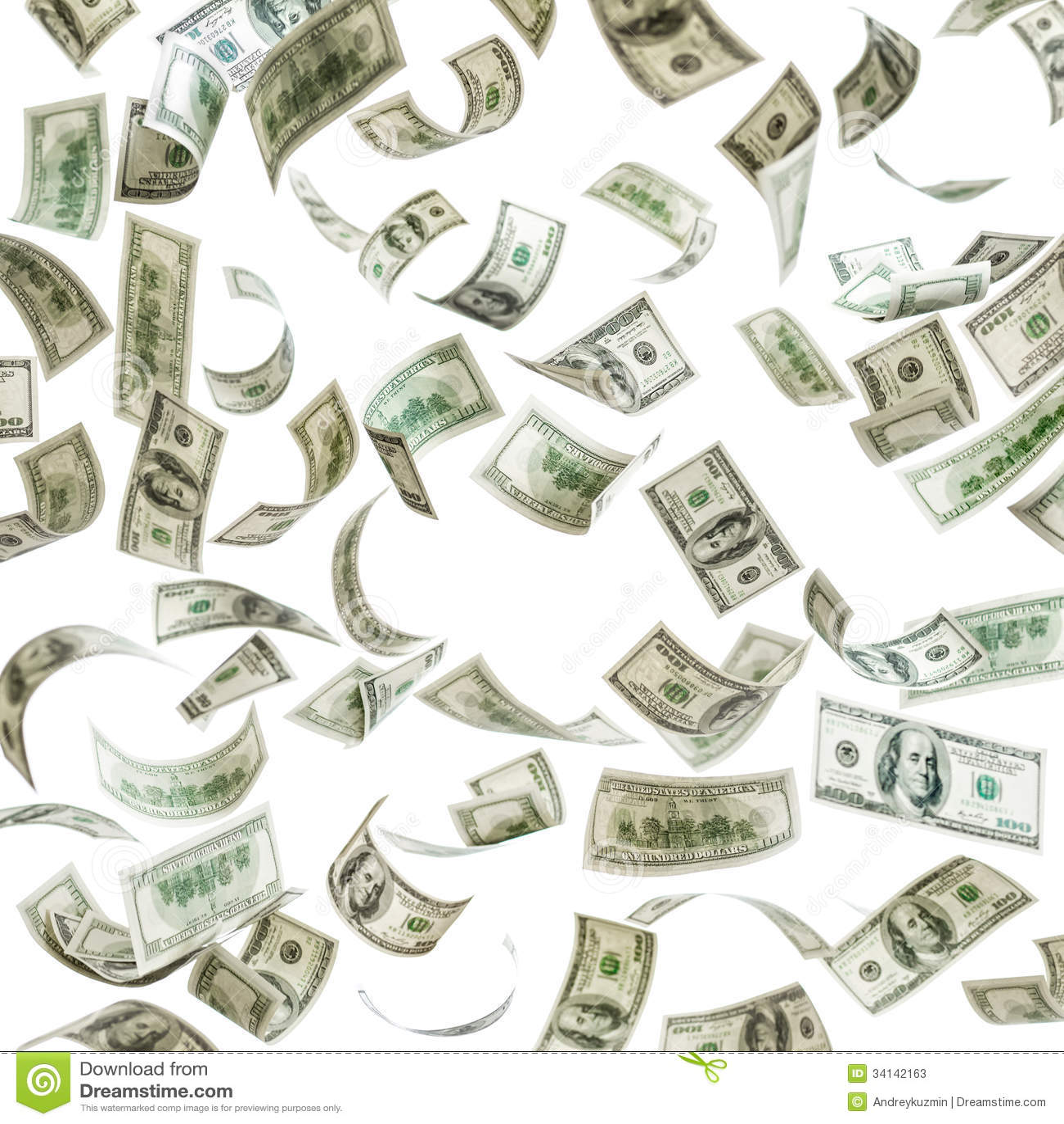 Falling Money 3d Live Wallpaper Falling Money Hundred Dollar Banknotes Stock Photos