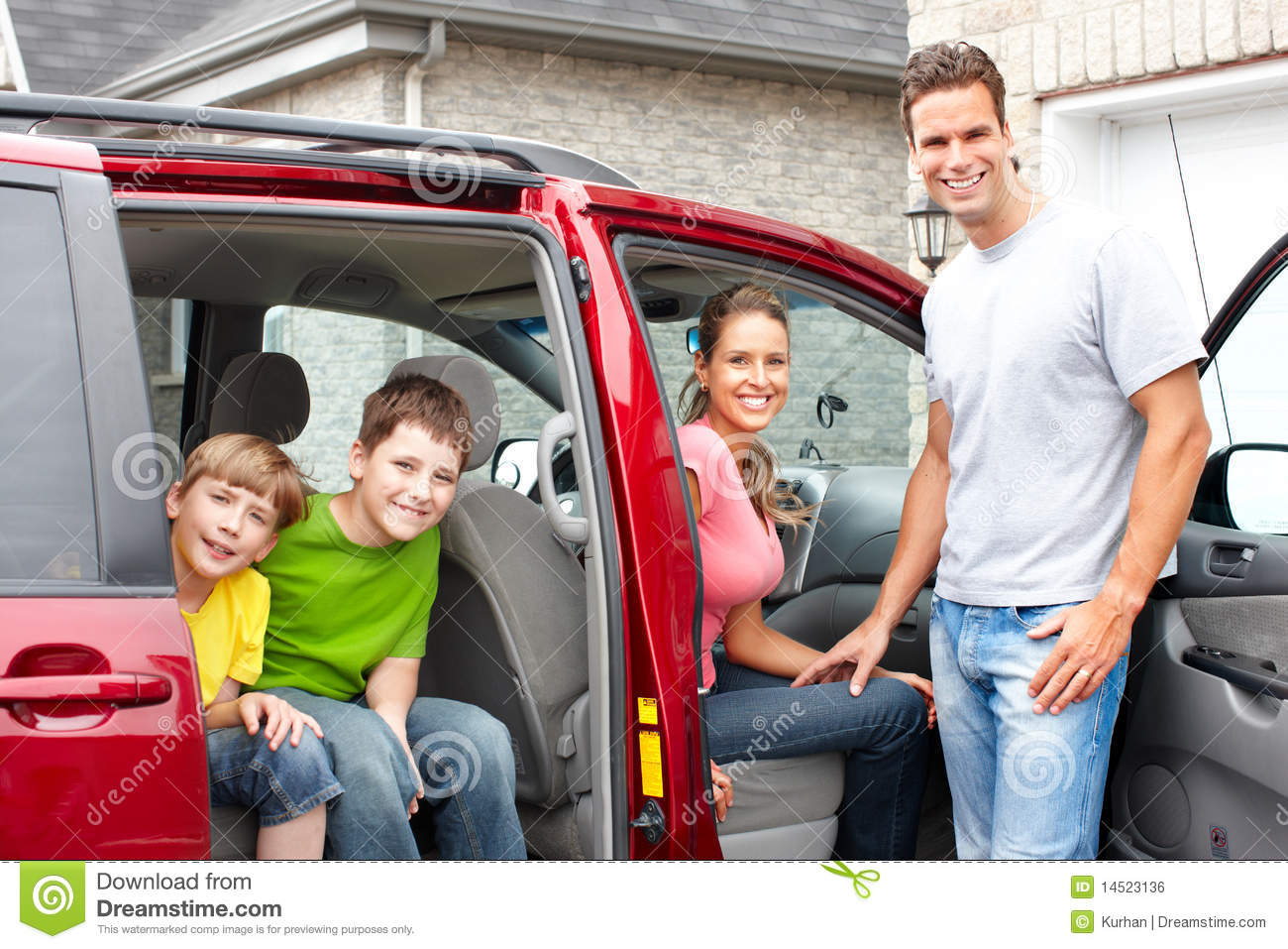 What Family Car Family Car Royalty Free Stock Image Image 14523136