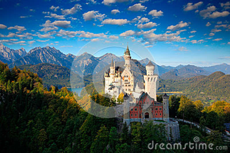 Fall Fairy Wallpaper Famous Fairy Tale Castle In Bavaria Neuschwanstein