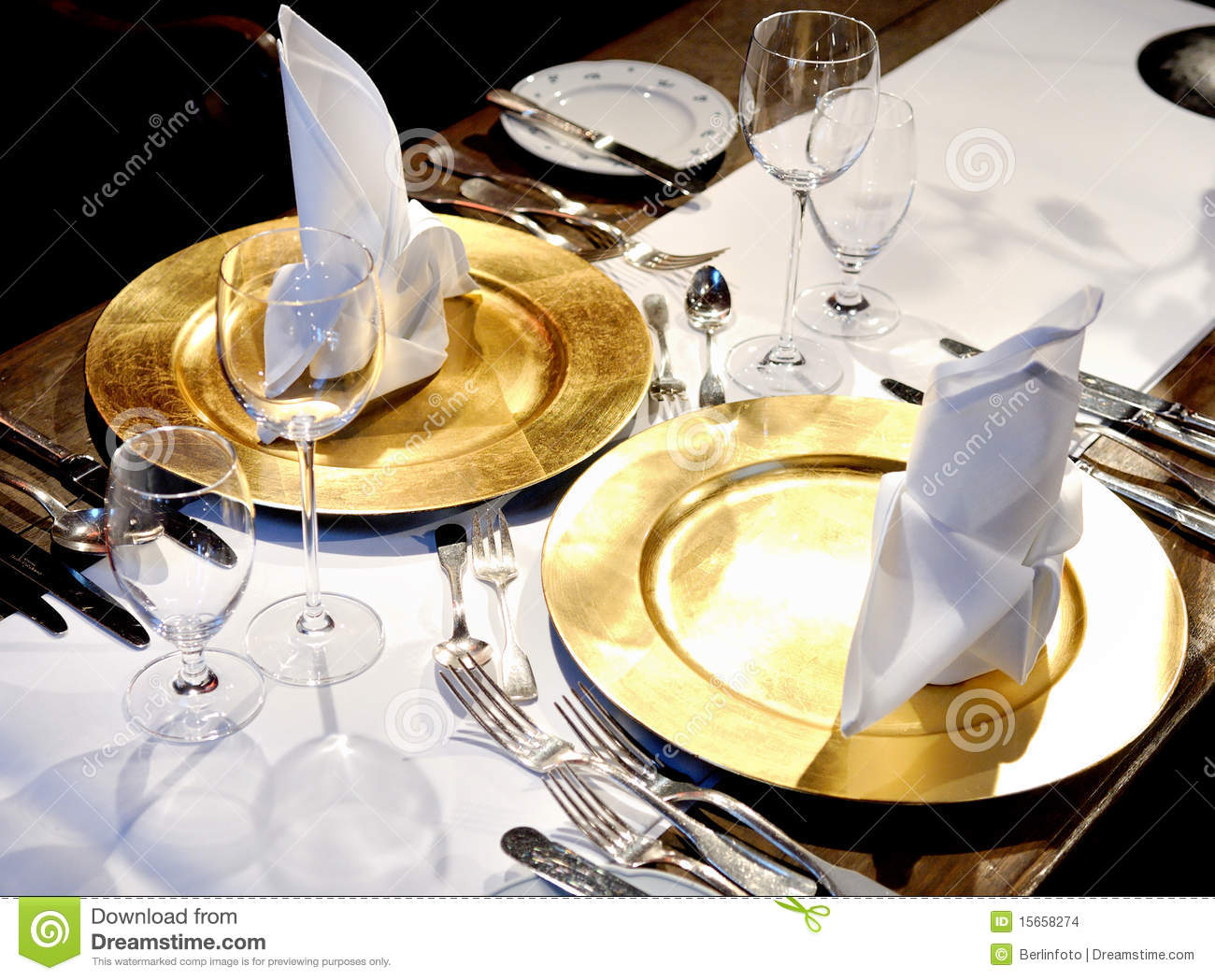 Delightful ... Fancy Table Settings Stock Images. Download