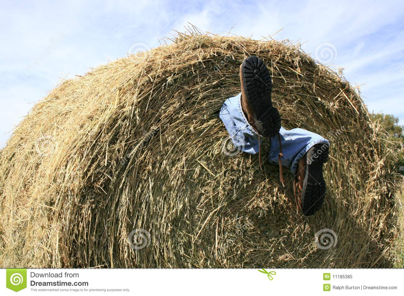 Hay Couch Farming Accident Royalty Free Stock Photo - Image: 11185385