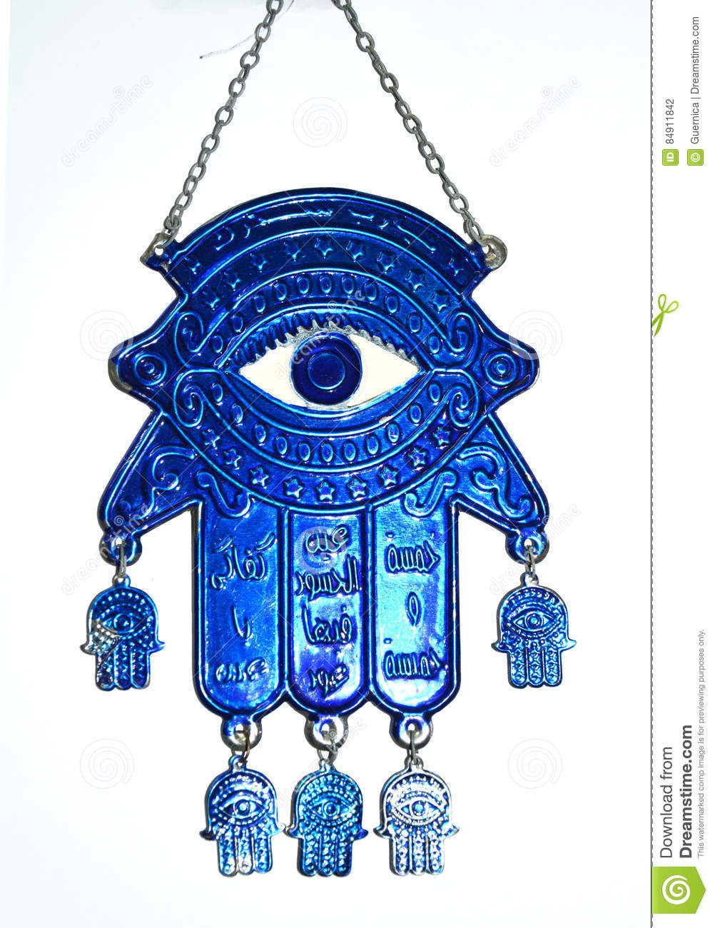 Het Boze Oog Fatima Hand Hamsa Stock Photo. Image Of Background