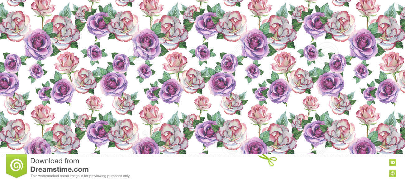 FB Cover For Facebook In A Watercolor Style Isolated Stock