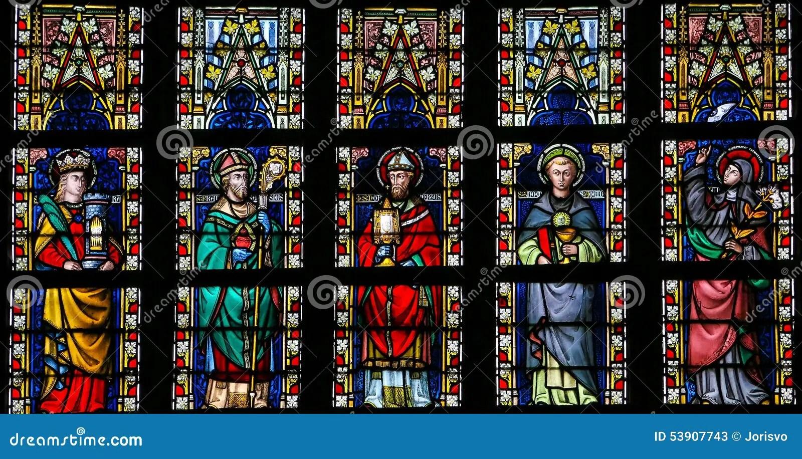 Jesus Wallpaper Hd 3d Download Fen 234 Tre En Verre Teint 233 D 233 Peignant Les Saints Catholiques
