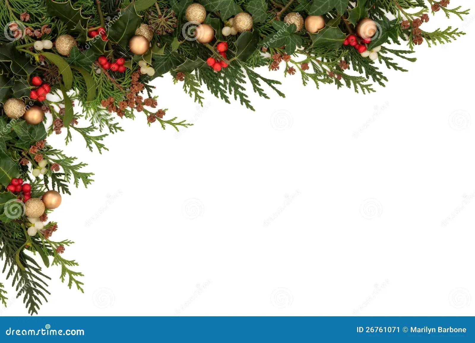 3d Xmas Tree Live Wallpaper Festive Border Stock Image Image 26761071