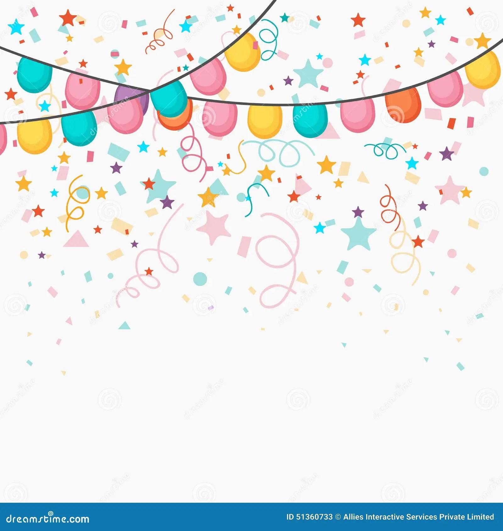 Glitter 3d Wallpaper Festive Celebration Background Stock Illustration Image