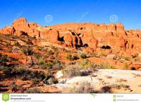 Fiery Furnace, Arches National Park Stock Photography ...