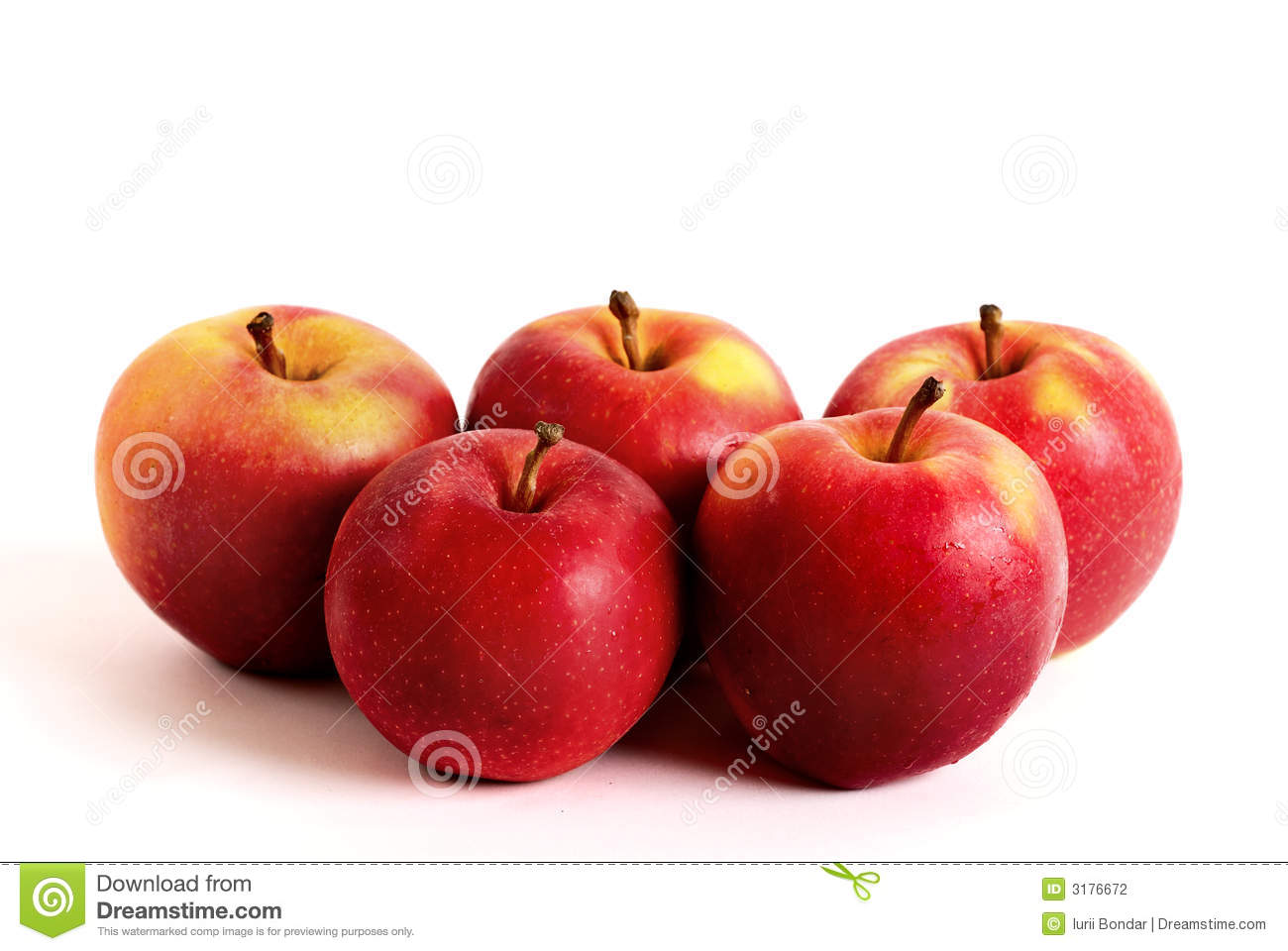 3d Animation Animals Wallpaper Five Apples Stock Photography Image 3176672