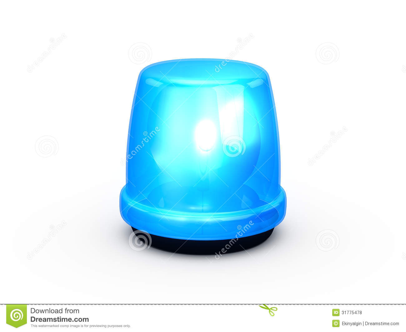 Police Lights Animation Flashing Light Blue Royalty Free Stock Photos Image
