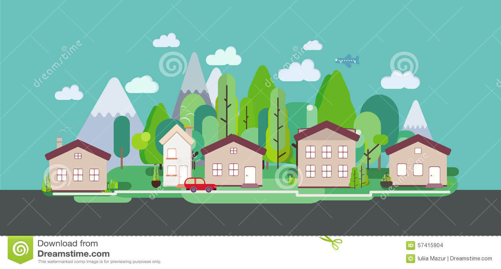 Poster design nature -  Design Nature Landscape Tourism Web Poster Stock Vector Download