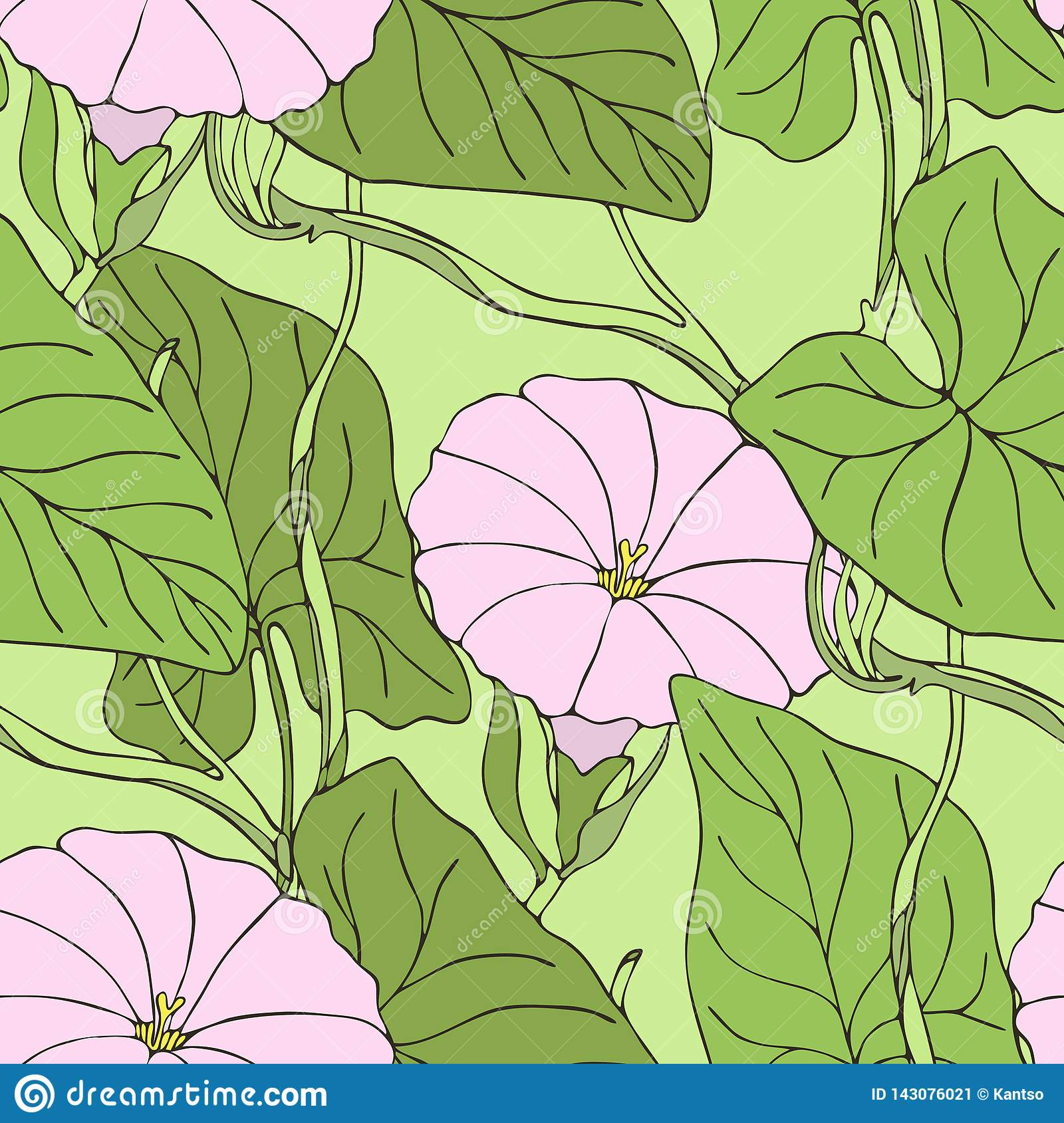 Fall Maple Leaf Tiled Wallpaper Retro Seamless Pattern With Abstract Doodle Leaves Cartoon