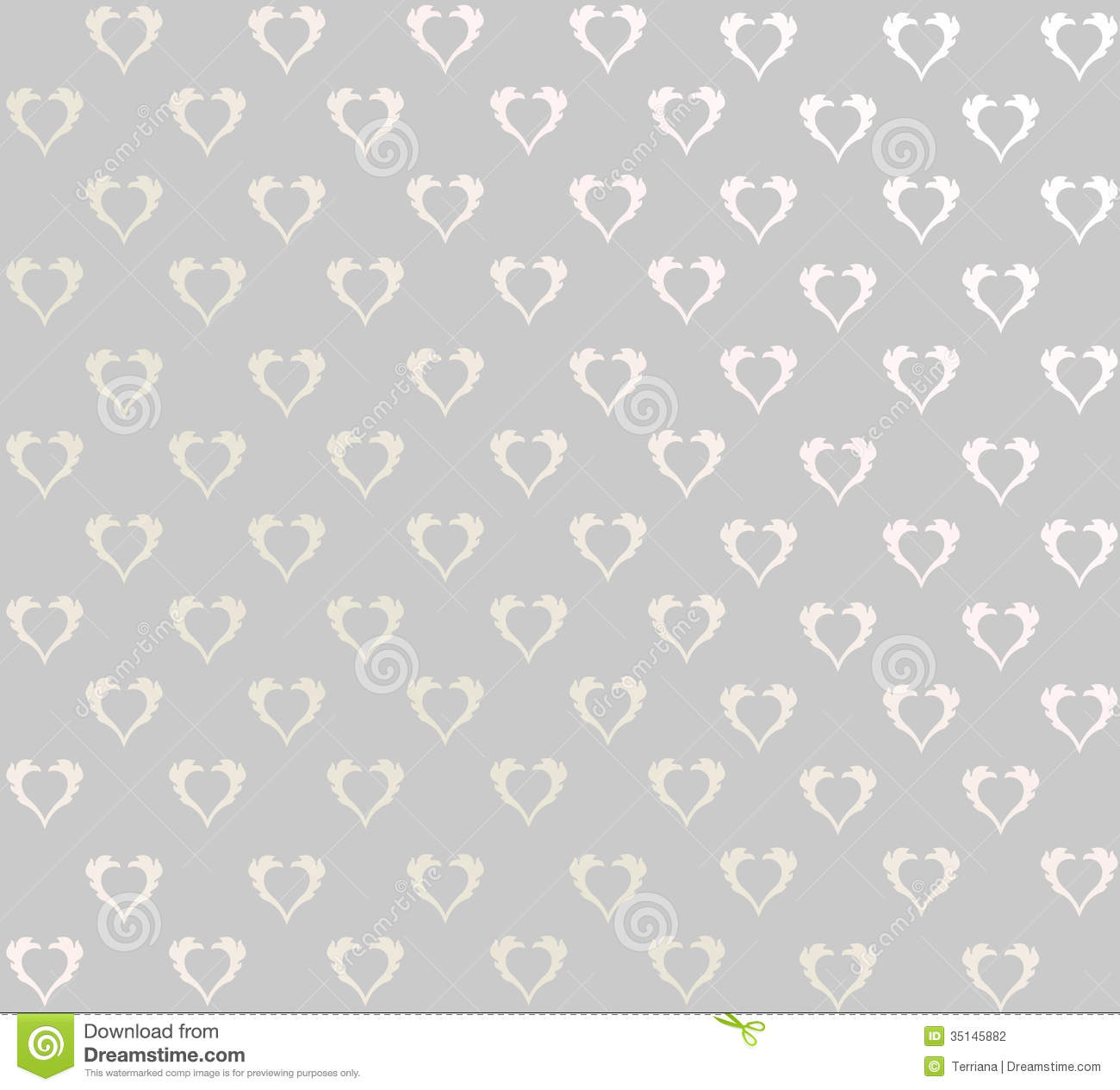 Grey And White Pattern Floral Seamless Background Abstract Grey And White Floral