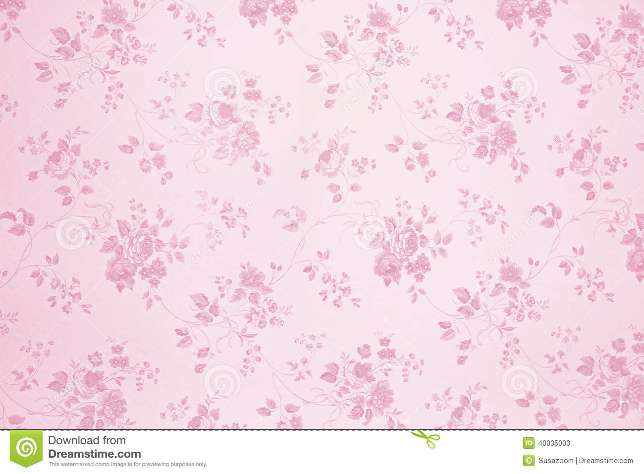 Download Sweet Quotes Wallpapers Floral Wallpaper Light Pink Stock Image Image 40035003