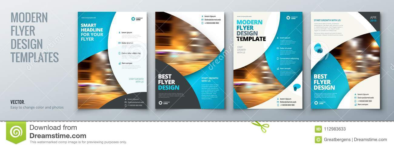 Flyer Template Layout Design Business Flyer, Brochure, Magazine Or
