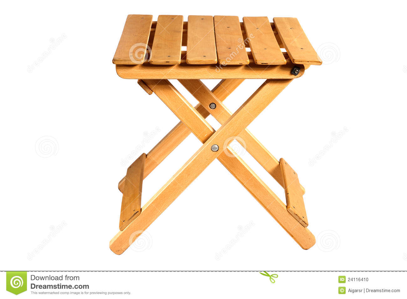 Folding Wooden Chairs Folding Wooden Chair Stock Photo Image Of Seat Brown 24116410