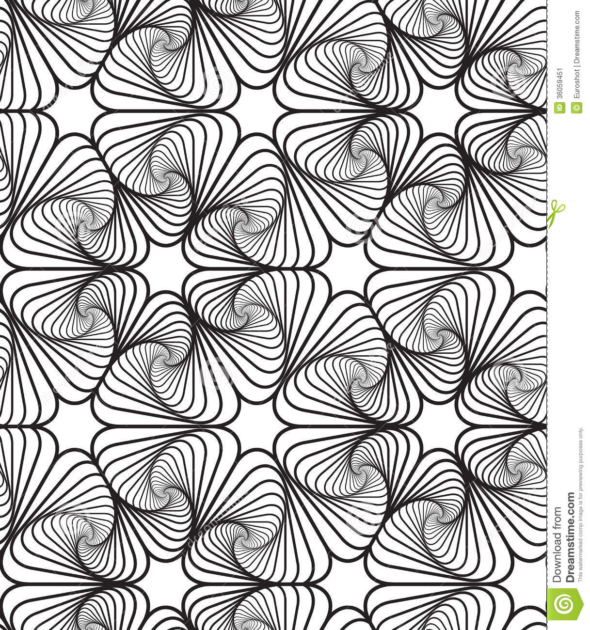 Photo Design Noir Et Blanc Fond Op Noir Et Blanc D Art Design Vector Seamless Pattern