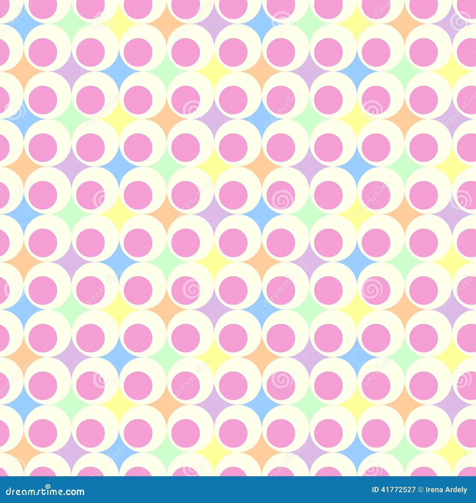 Pink Iphone 6 Wallpaper Fondo En Colores Pastel Retro Imagen De Archivo Imagen