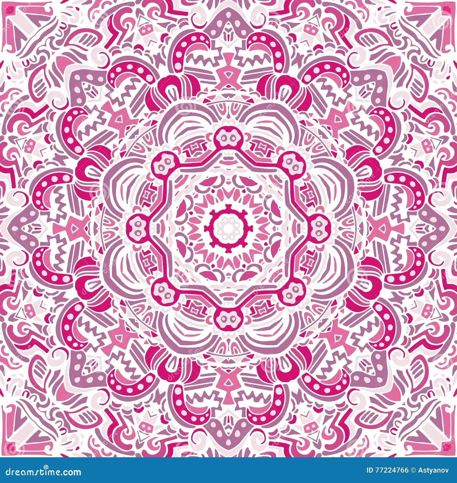 Pinterest Desktop Wallpaper Lotus Quote Fondo Rosado De La Mandala Del Vintage Ilustraci 243 N Del