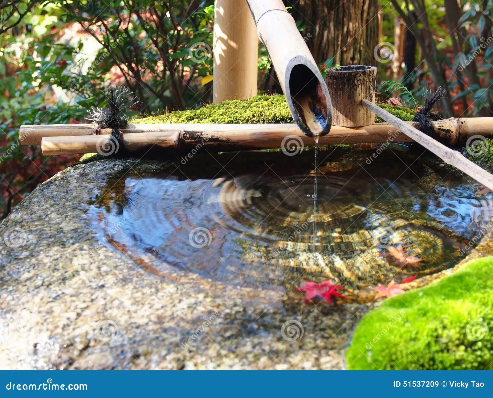 Fontaine D\'intérieur En Bambou | Fontaine D 39eau Jardin Japonais ...