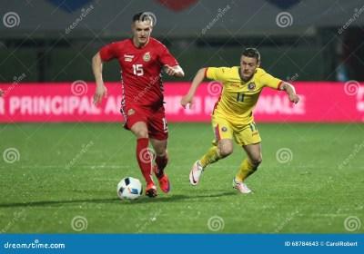 FOOTBALL - ROMANIA Vs. LITHUANIA Editorial Stock Photo - Image: 68784643