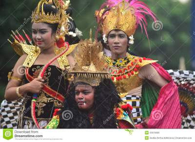 FOREIGN INFLUENCE IN INDONESIAN CULTURE Editorial Stock ...