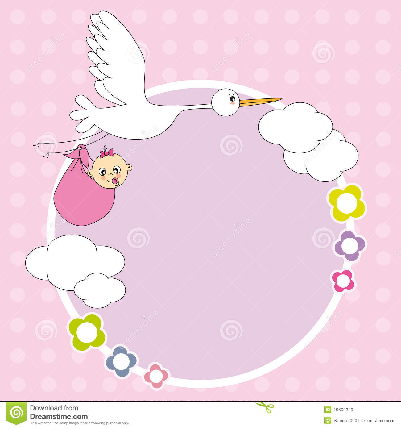 Cute Baby Girl Wallpaper Full Hd Frame Baby Girl Stock Vector Illustration Of Tender