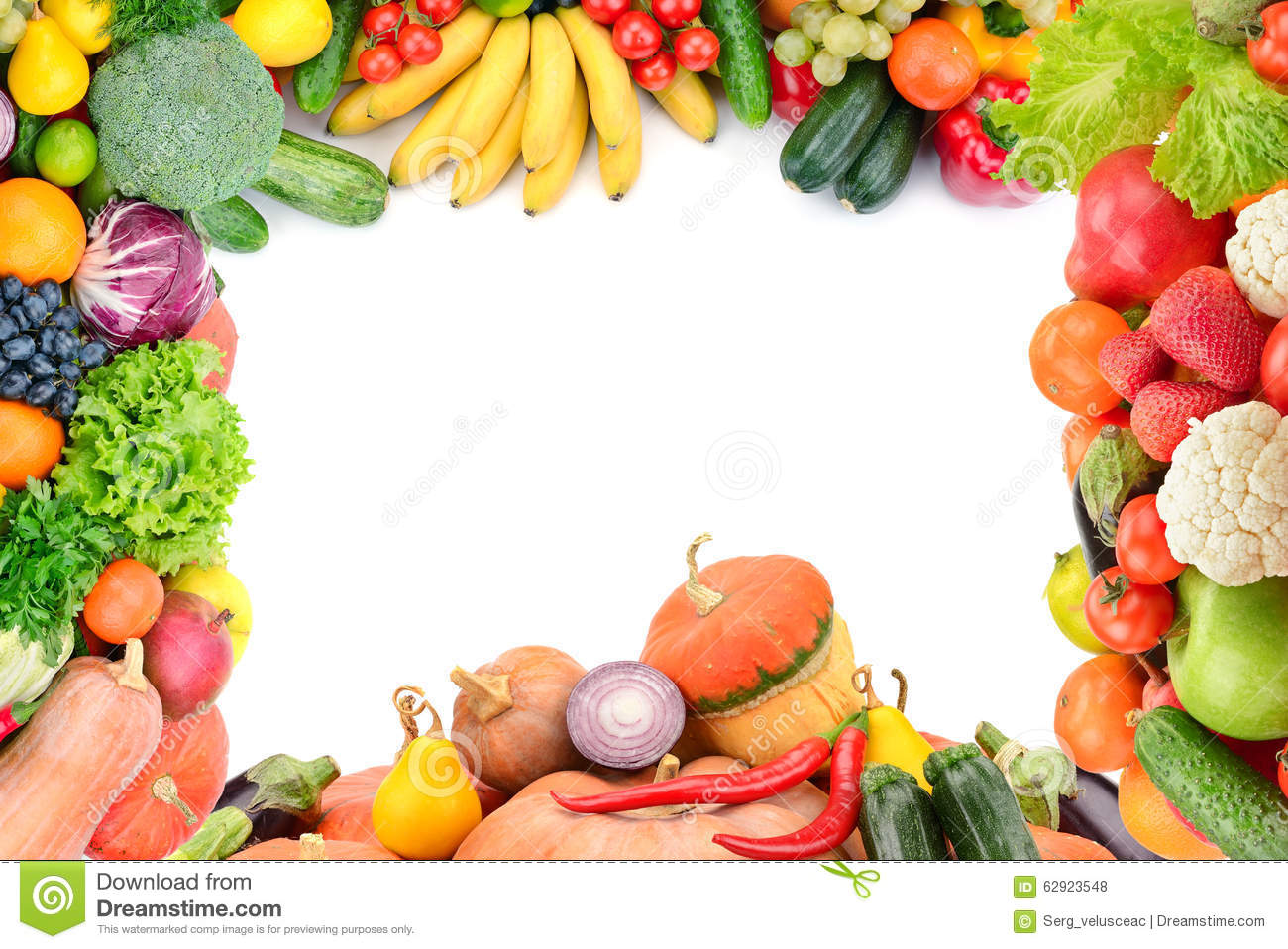 Autumn Tree Leaf Fall Animated Wallpaper Frame Of Vegetables And Fruits Stock Photo Image Of