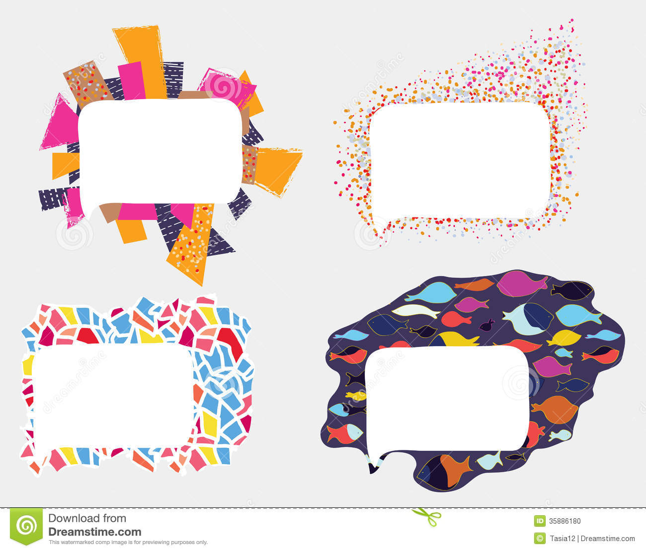 Cute Lace Wallpaper Frames And Borders Whimsical Design Stock Vector Image