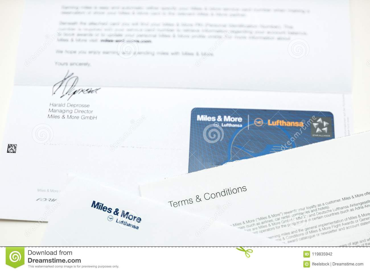 Miles And More Business Miles And More Card Point Card From Lufthansa Editorial