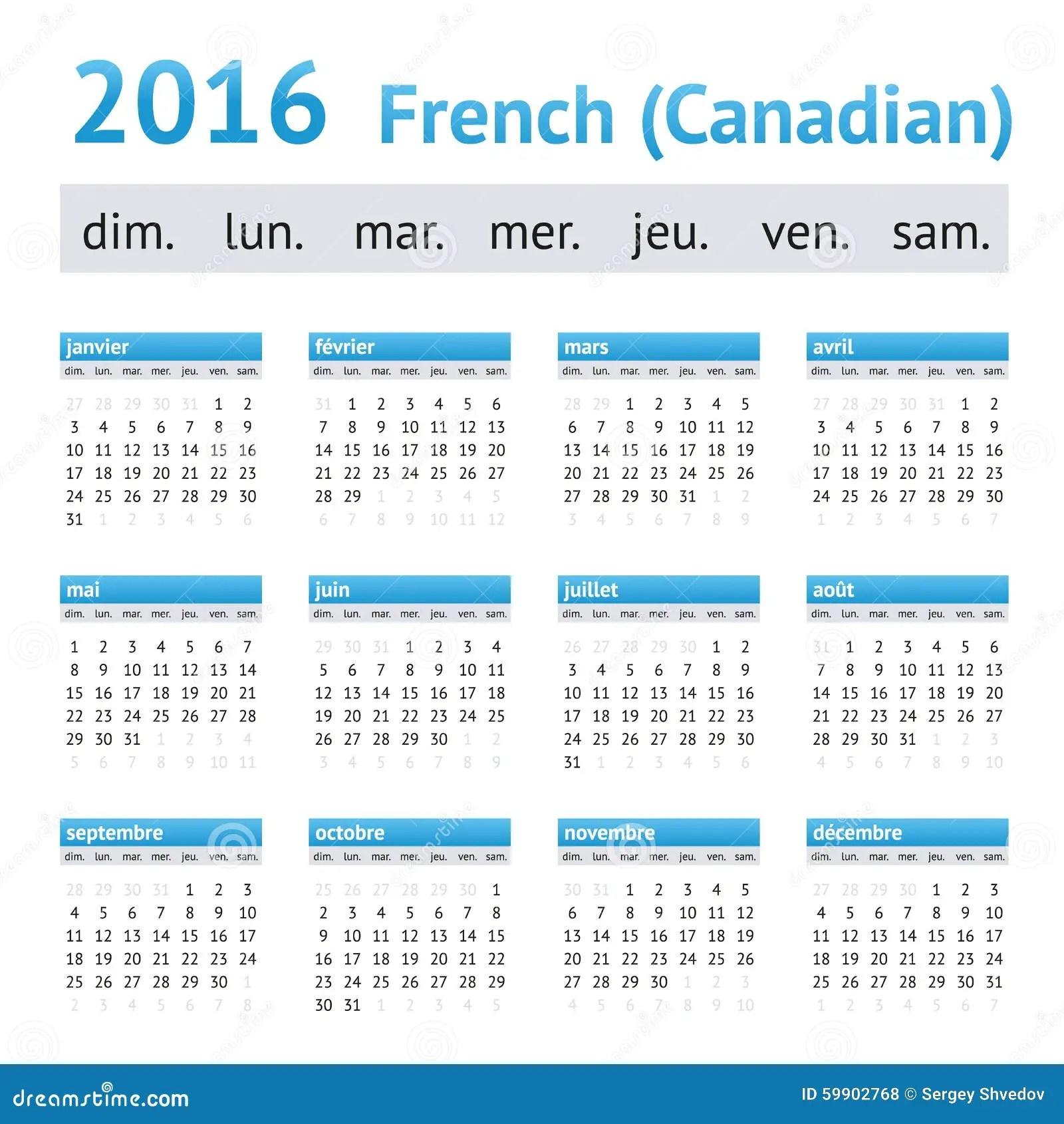 Calendar Holidays Canada 2013 2017 Holidays 2017 Calendar Of Events Teaching Ideas 2016 French American Calendar Week Starts On Sunday Stock