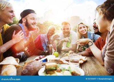 Friend Celebrate Party Picnic Joyful Lifestyle Drinking ...