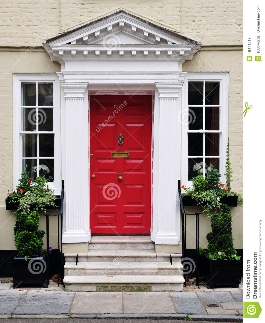 Beautiful Doors For Homes Front Door Of A Beautiful House Stock Photo Image Of