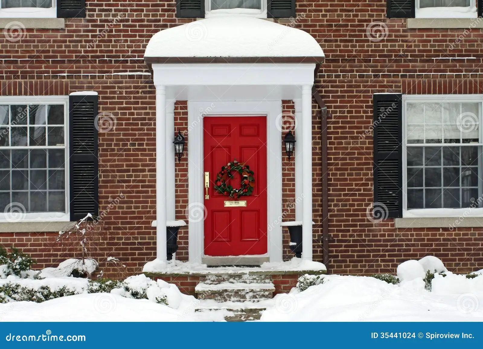 Christmas Front Door Clipart front door clipart