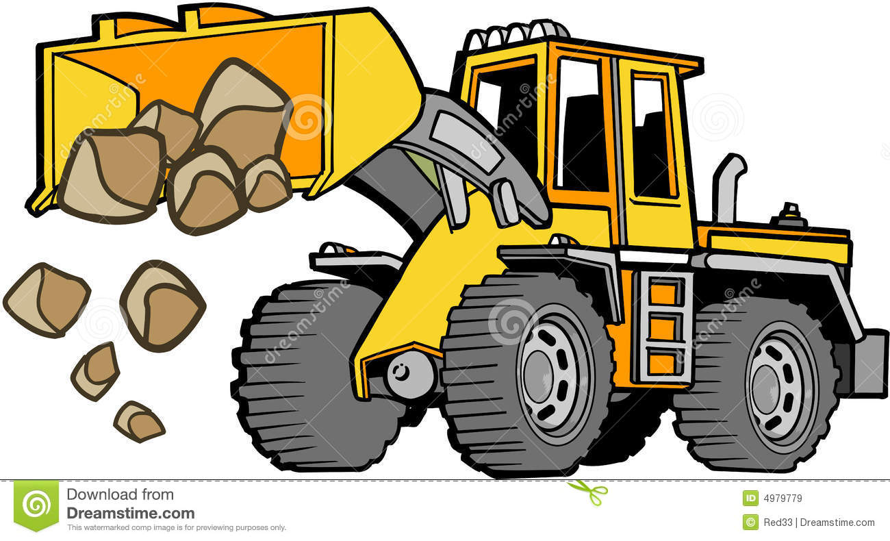 Tischler Comic Front Loader Vector Stock Vector Illustration Of Huge