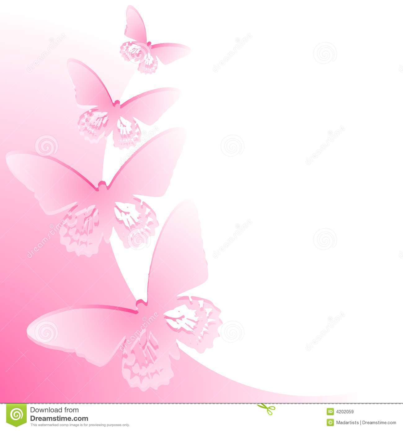 Breast Cancer 3d Wallpaper For Pc Frontera Rosada De La Mariposa Stock De Ilustraci 243 N