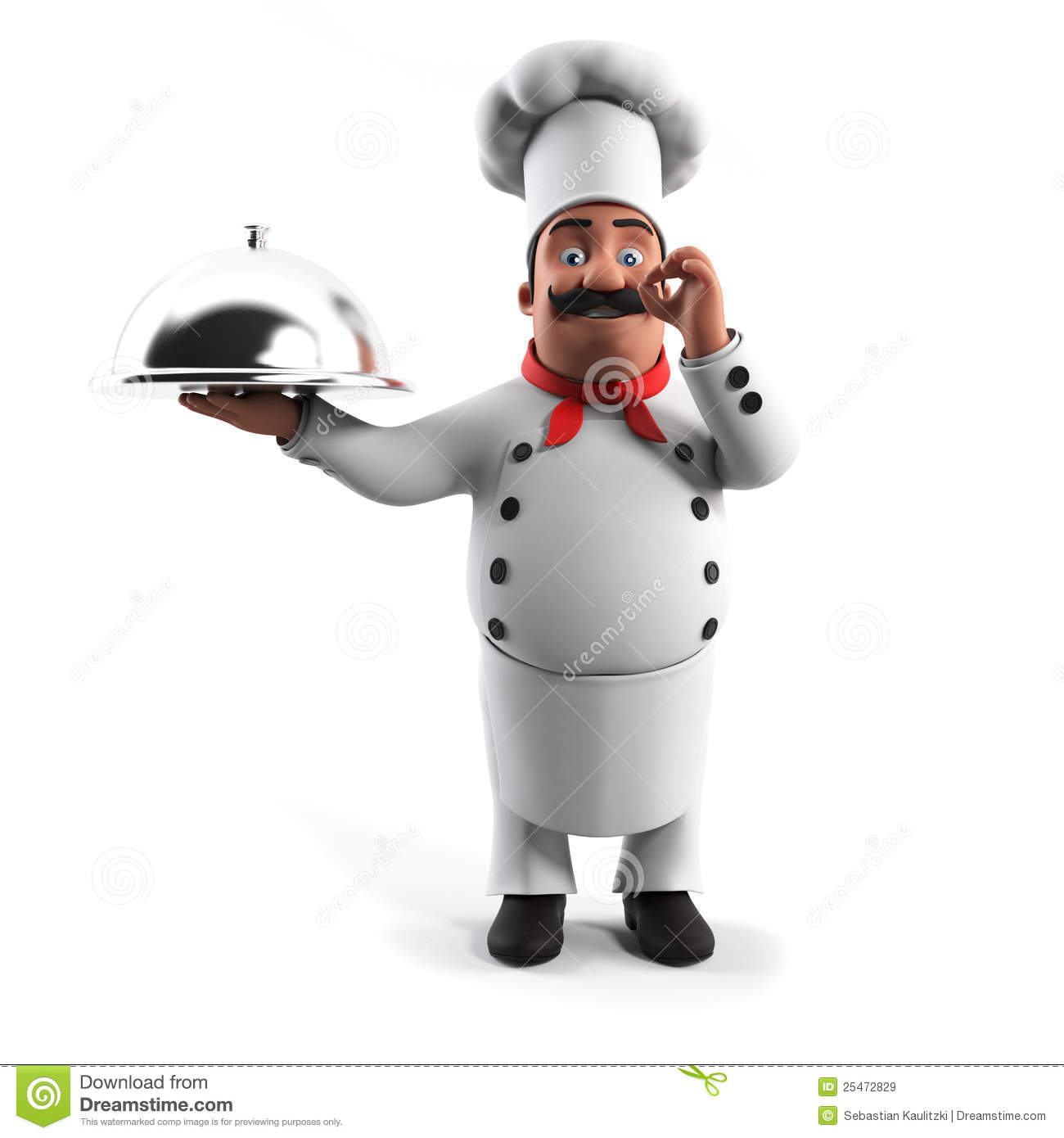 Grappige Keuken Funny Kitchen Chef Stock Illustration. Illustration Of
