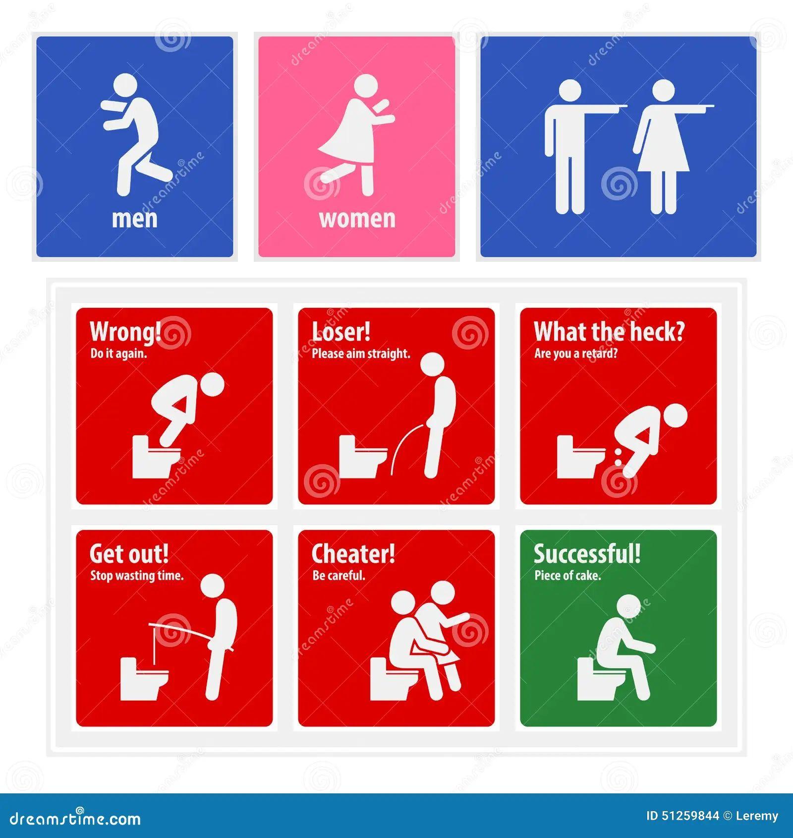 Bathroom Signs German funny bathroom signs for men